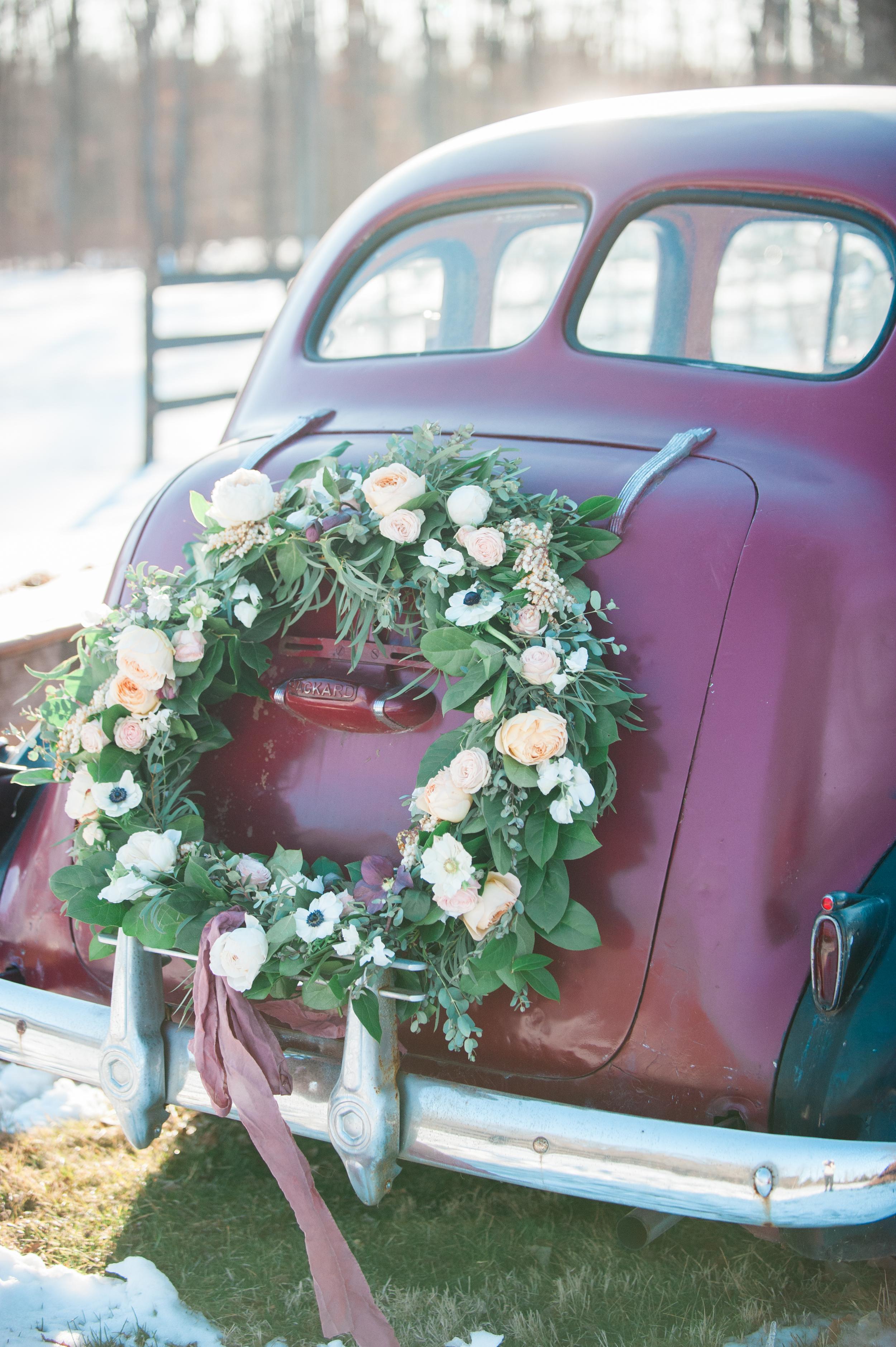 Wild Green Yonder | Car Wreath