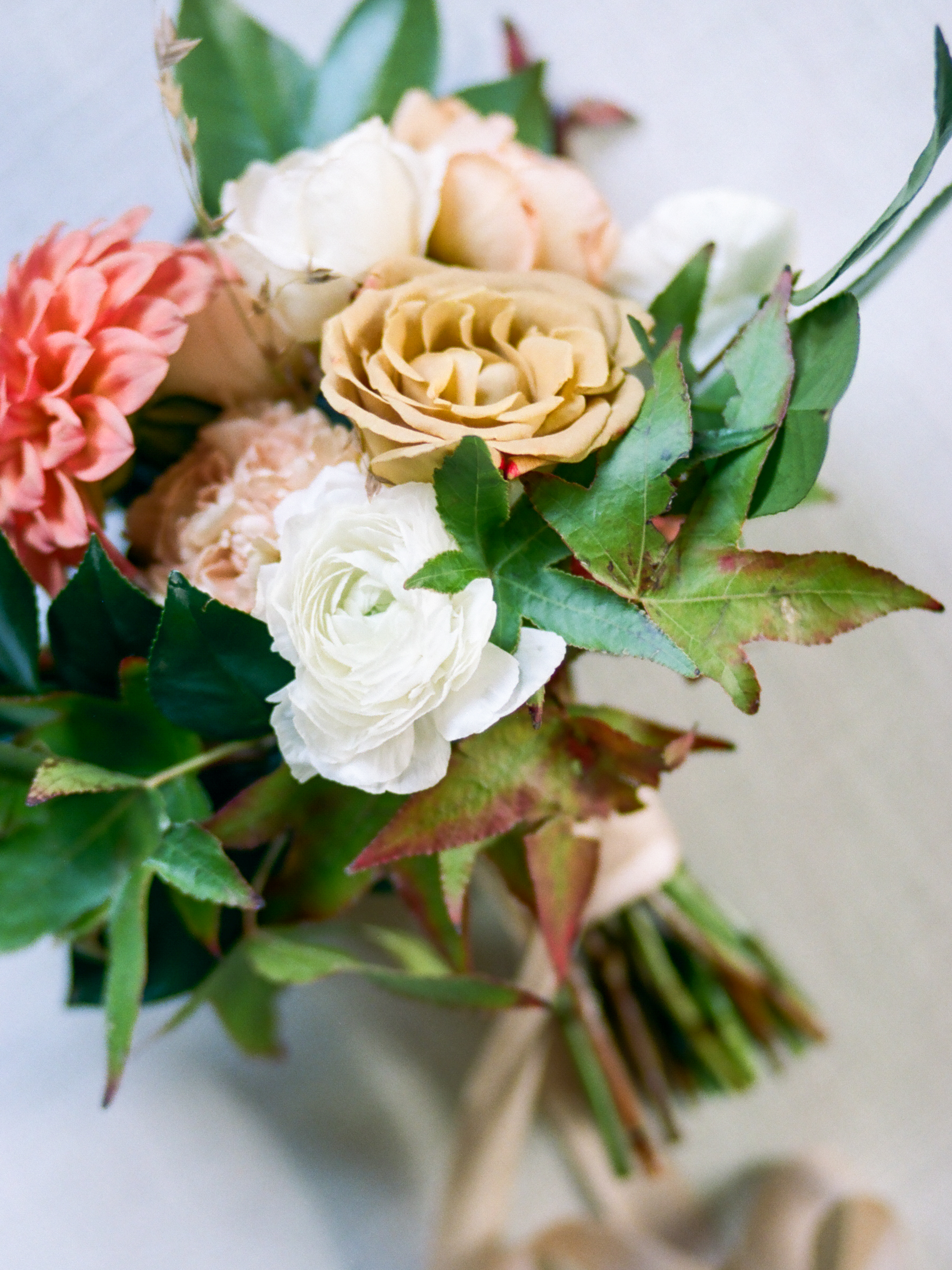 Wild Green Yonder Natural Bridesmaid Bouquet