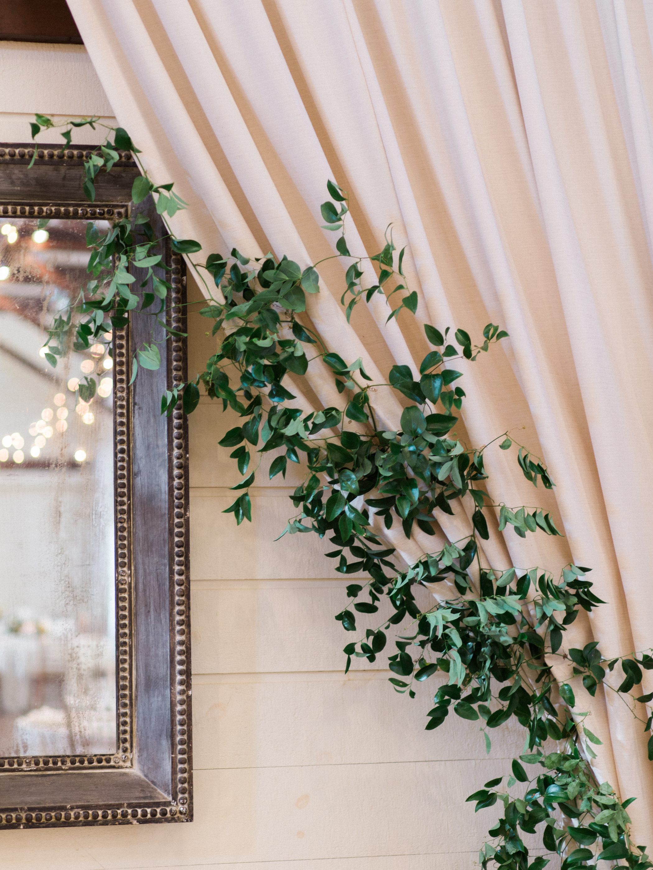 Pippin Hill Wedding | Greenery with Draping