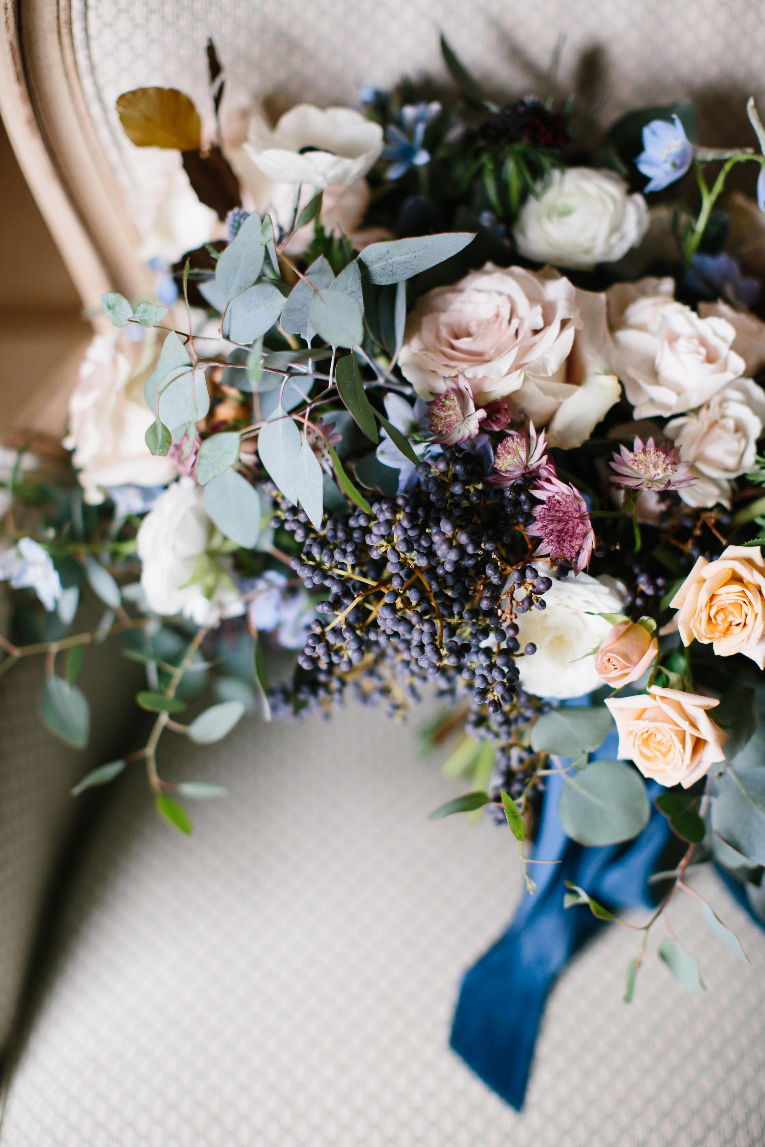 Salamander Resort Wedding Flowers by Wild Green Yonder
