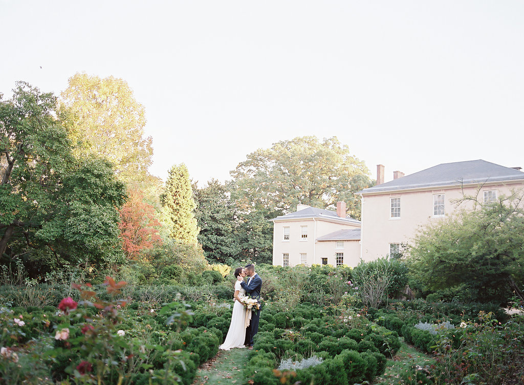 DC Wedding at Tudor Place