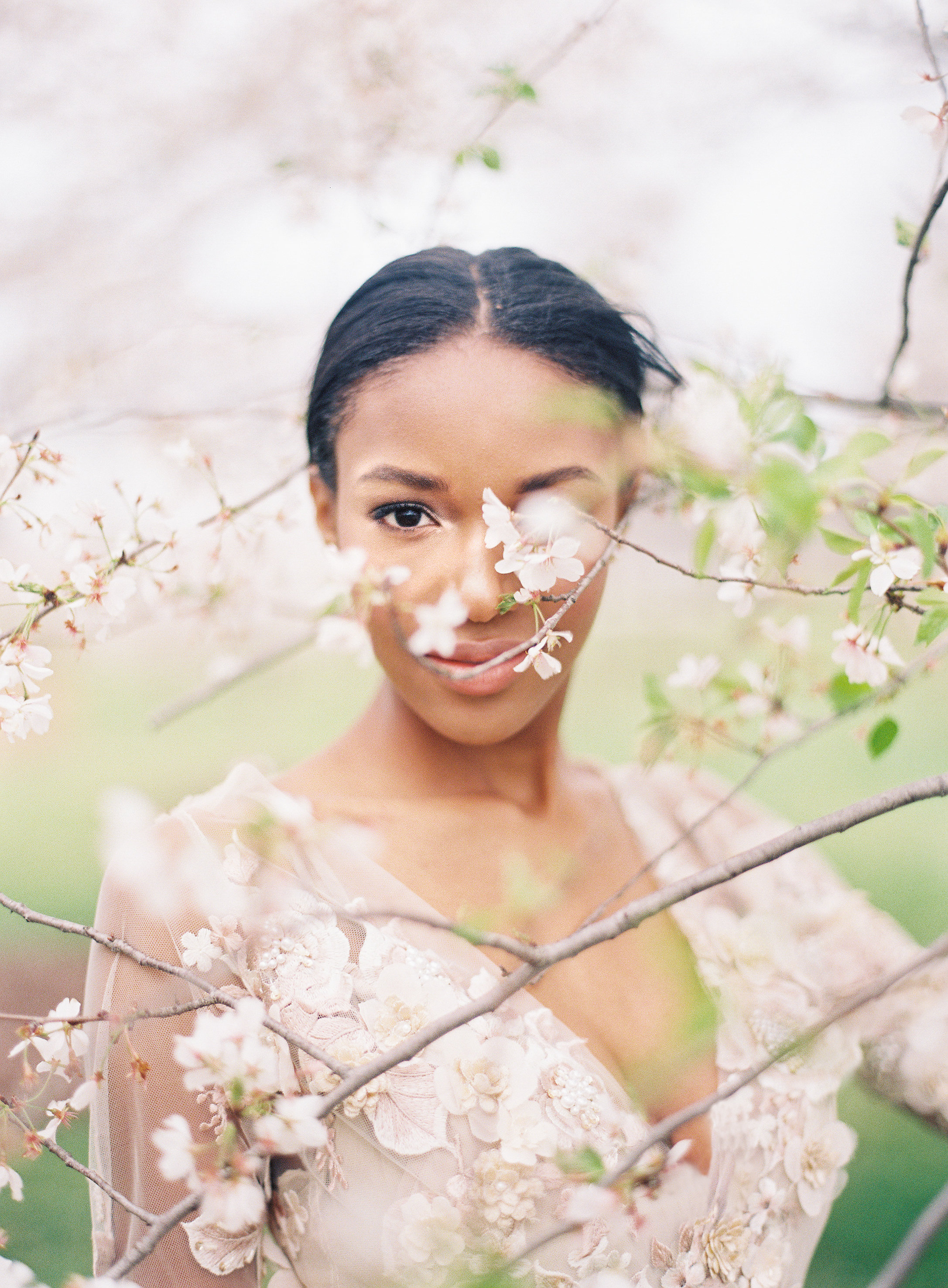 Virginia Cherry Blossom Wedding