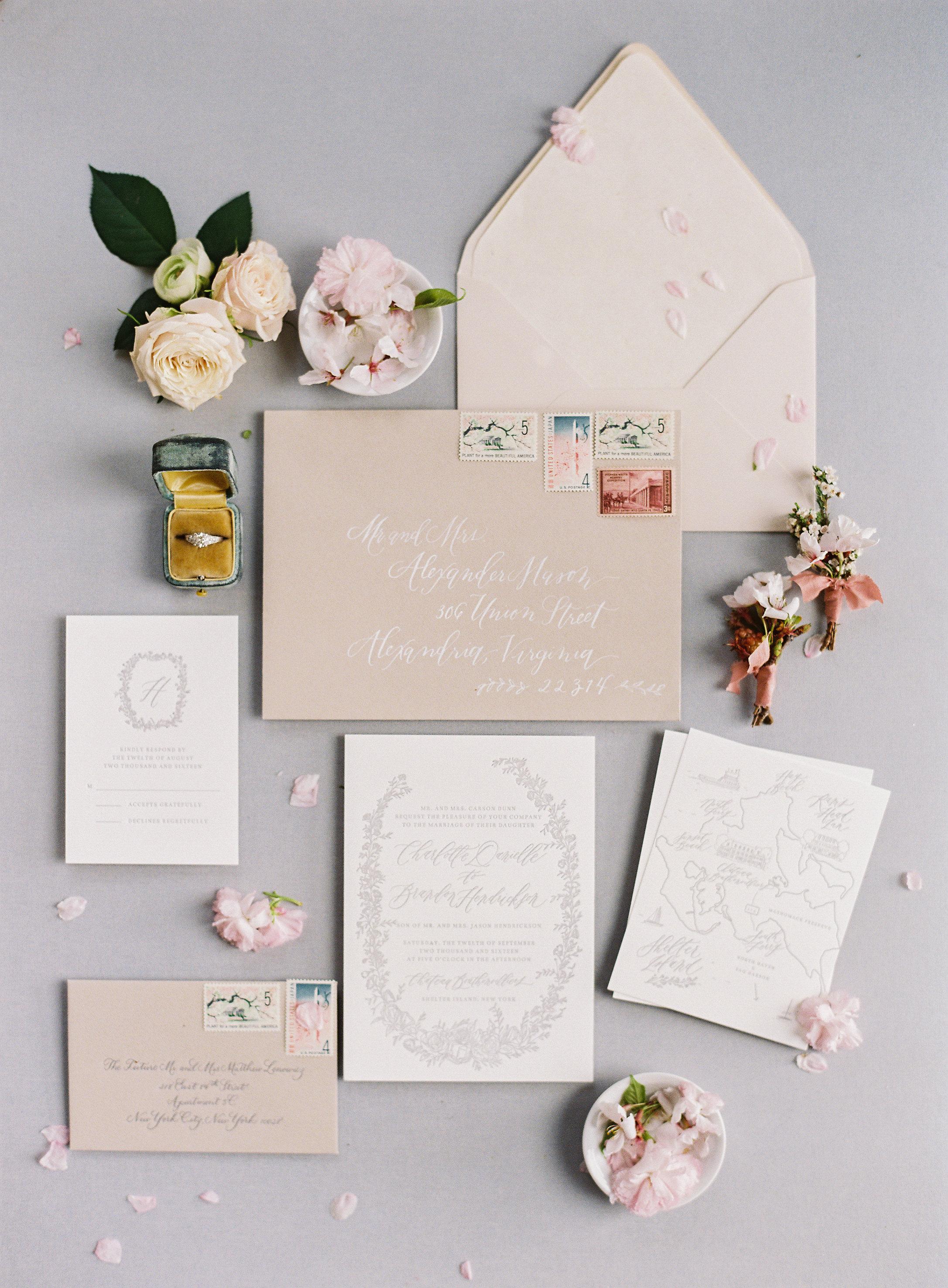 Virginia Cherry Blossom Wedding