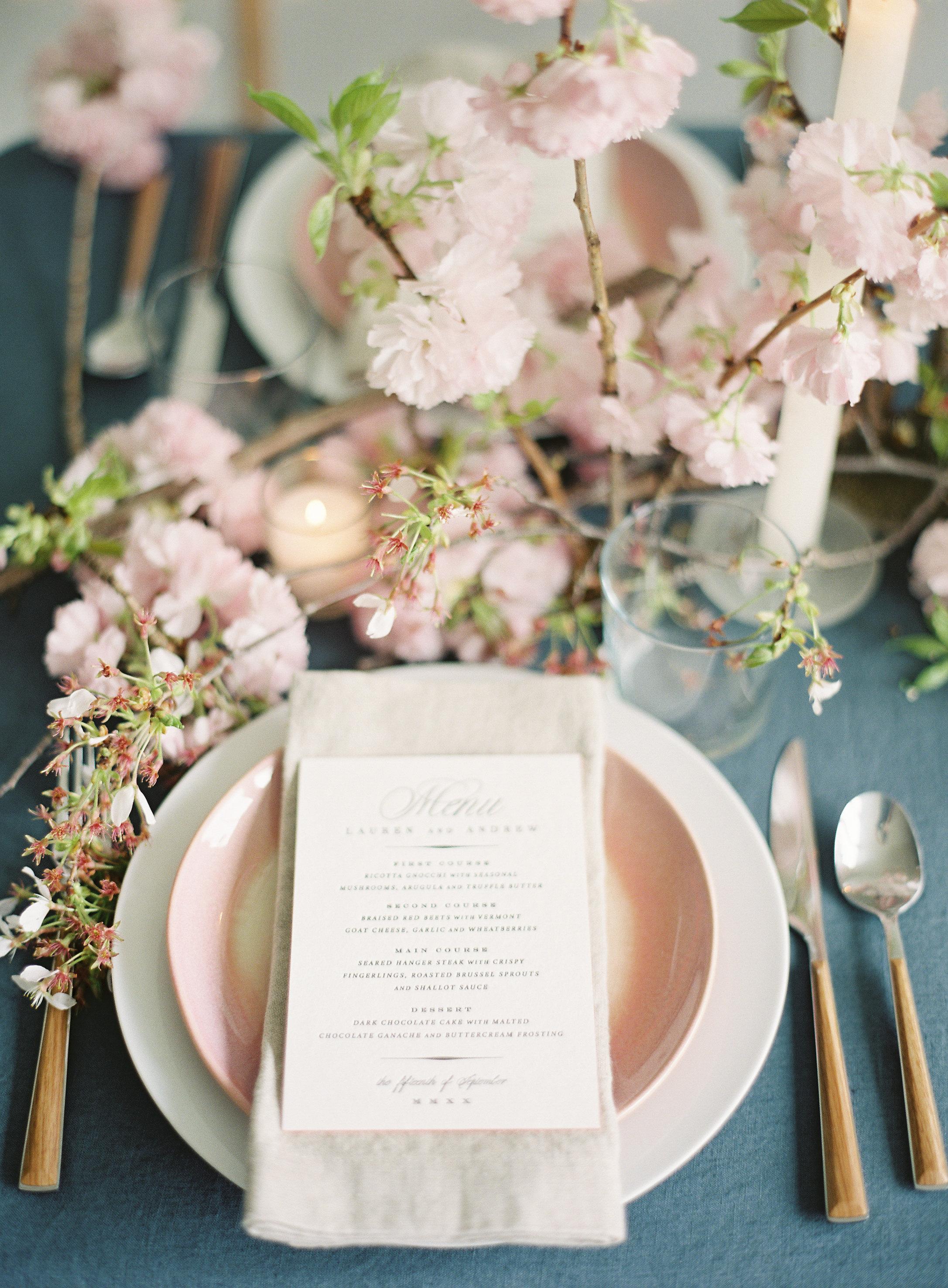 Cherry Blossom Centerpiece by Wild Green Yonder