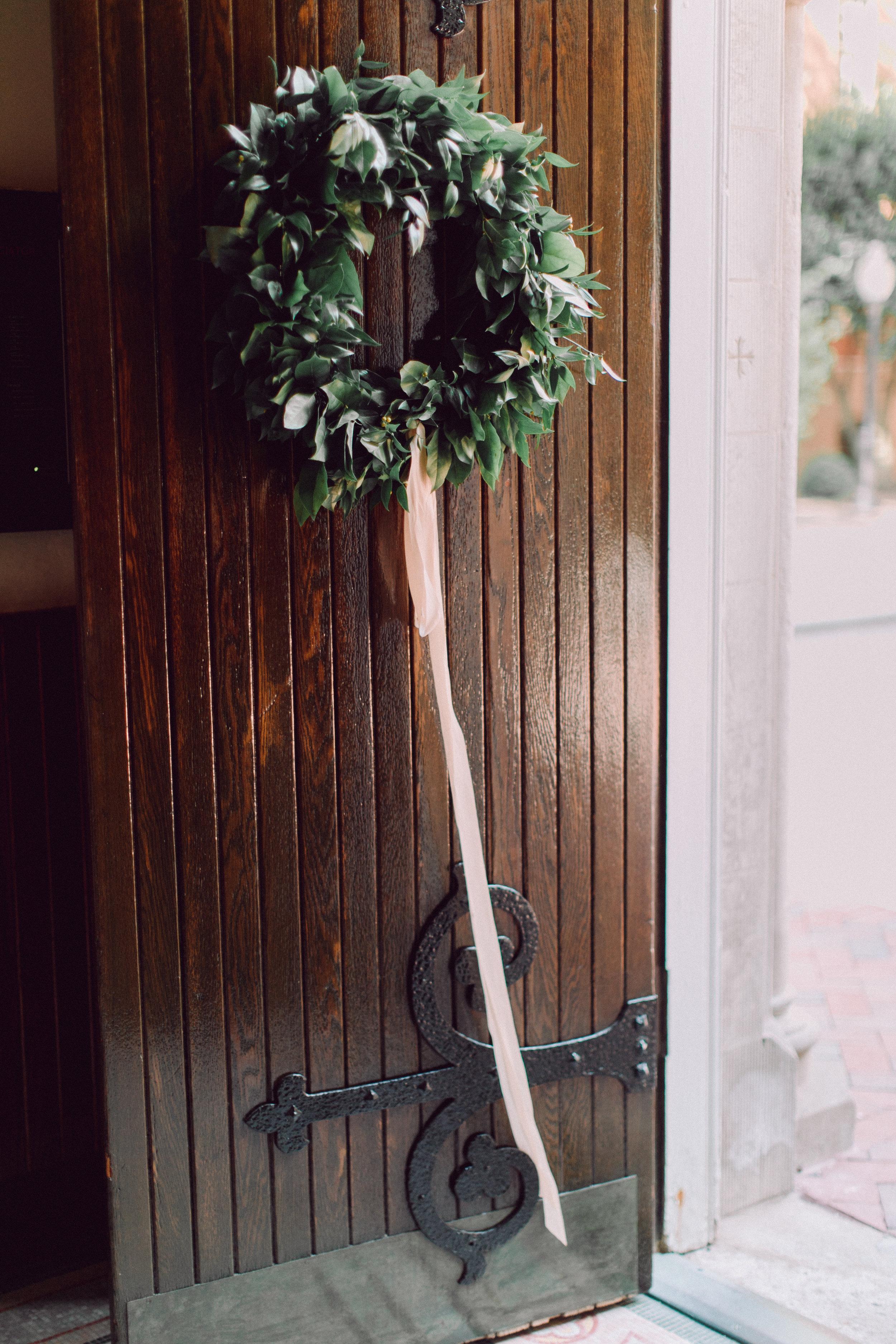 DC Florist Wild Green Yonder - Dahlgren Chapel Georgetown Wedding