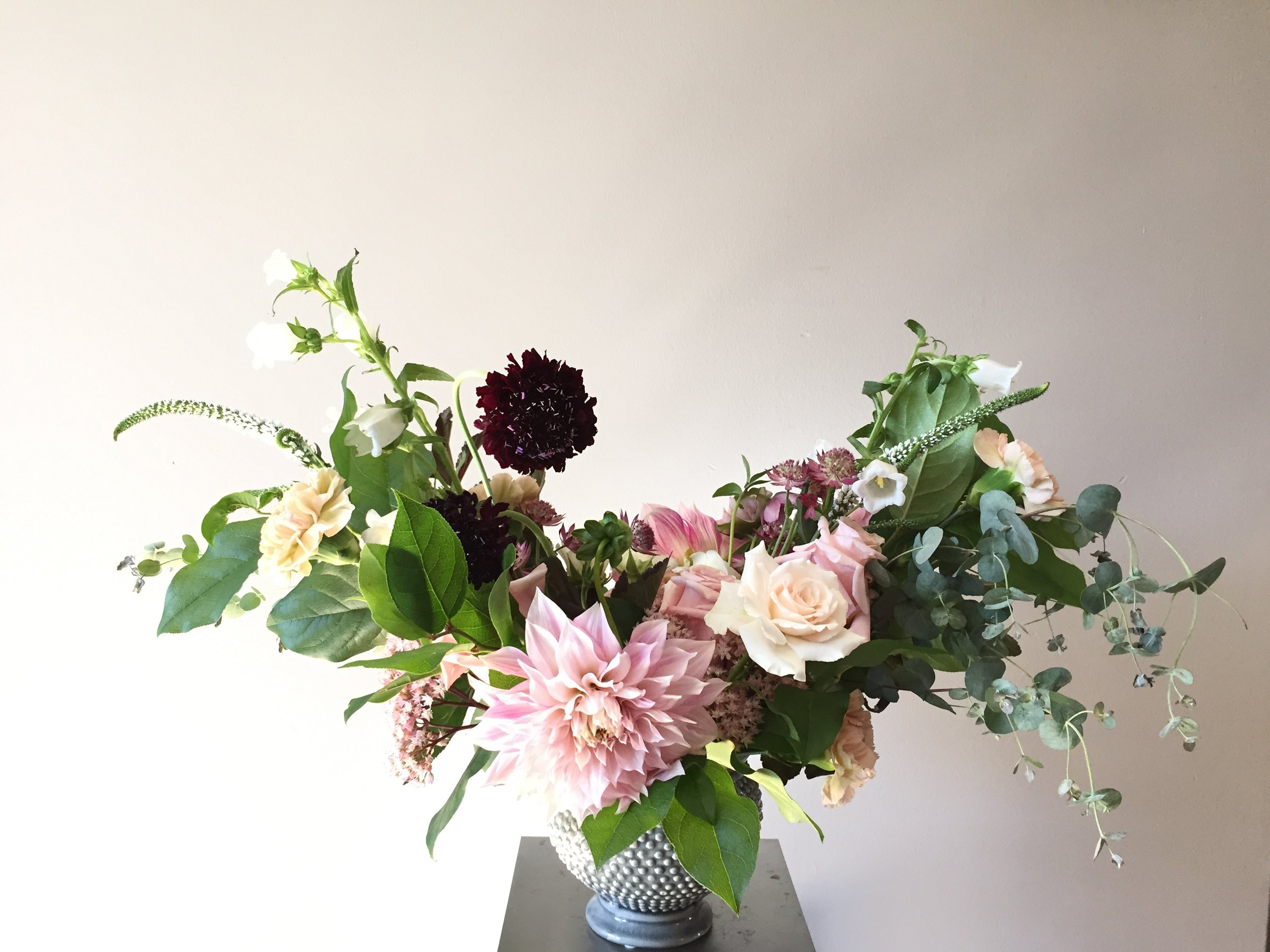 Wild Green Yonder_Flower Arranging Class