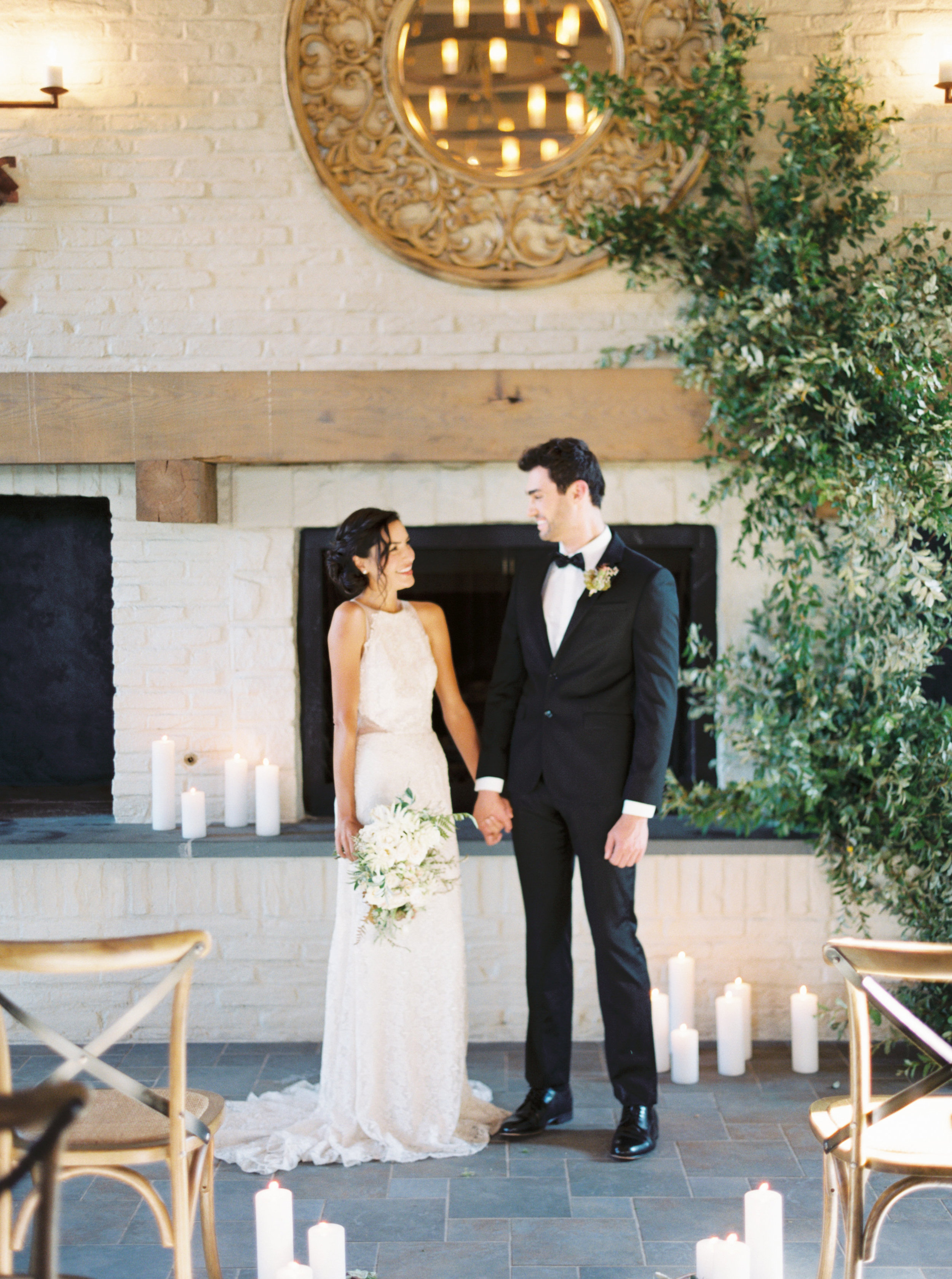 Early Mountain Vineyard Wedding - Wild Green Yonder Flowers