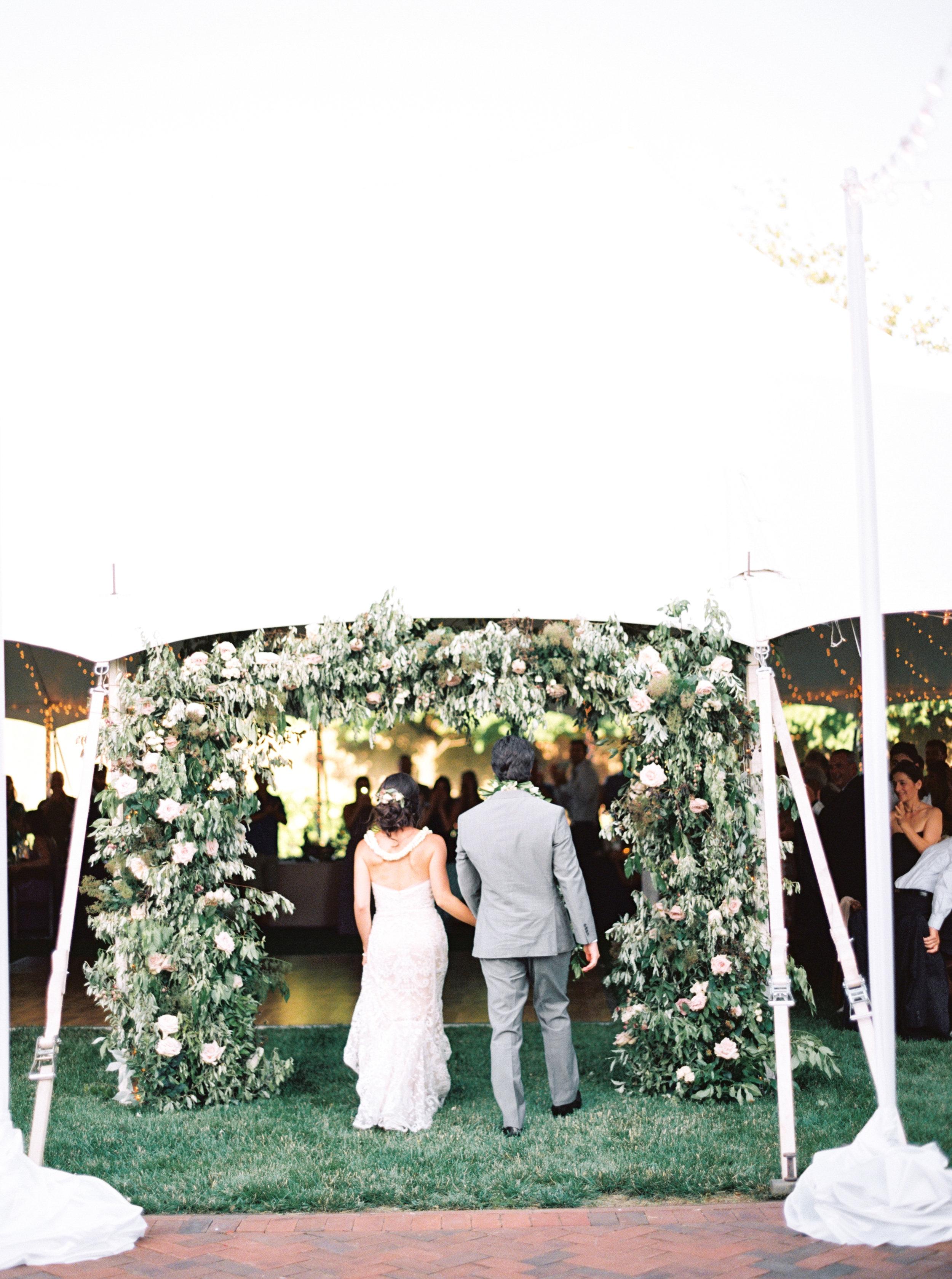 Wild Green Yonder Floral Arch