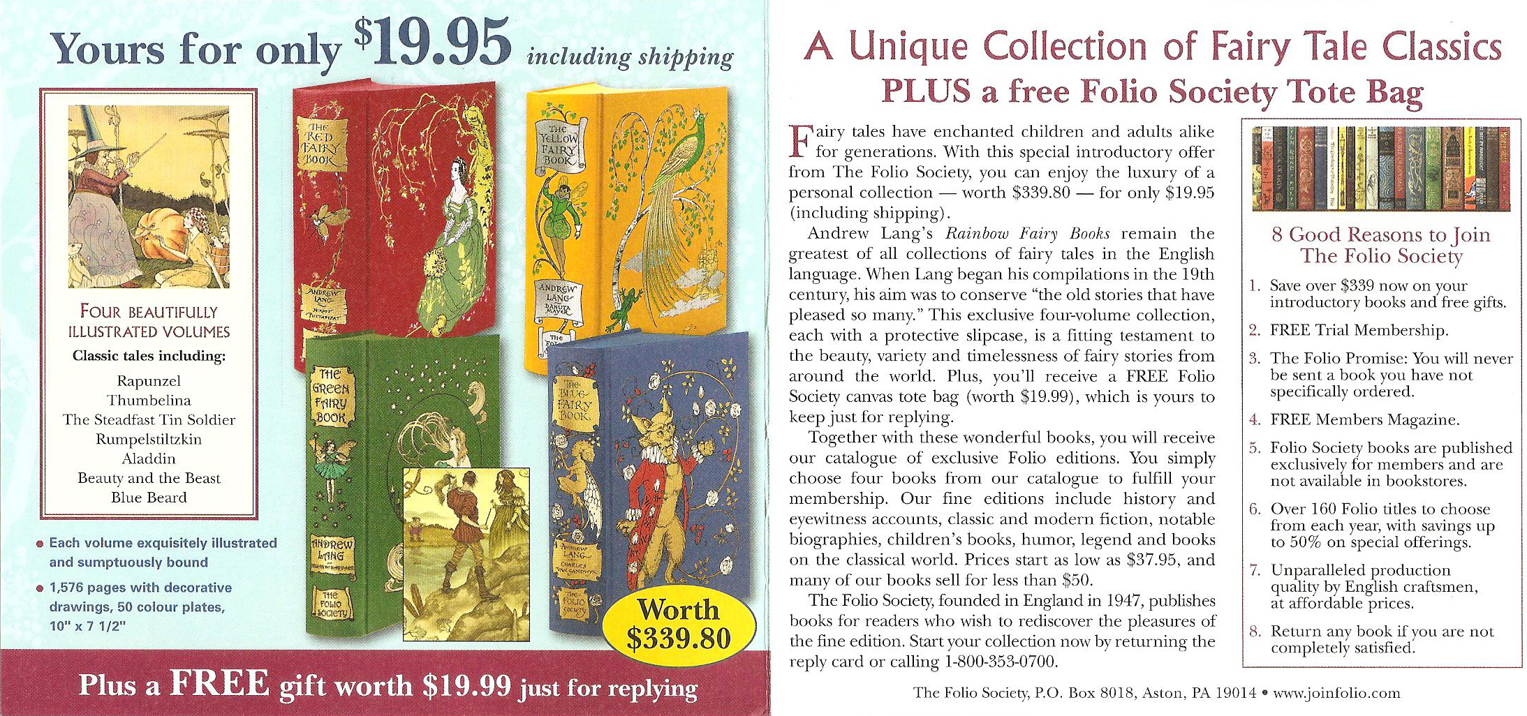 Gardener's Collection Direct Mail Offer, The Folio Society, 2012 (Creative Consultant)