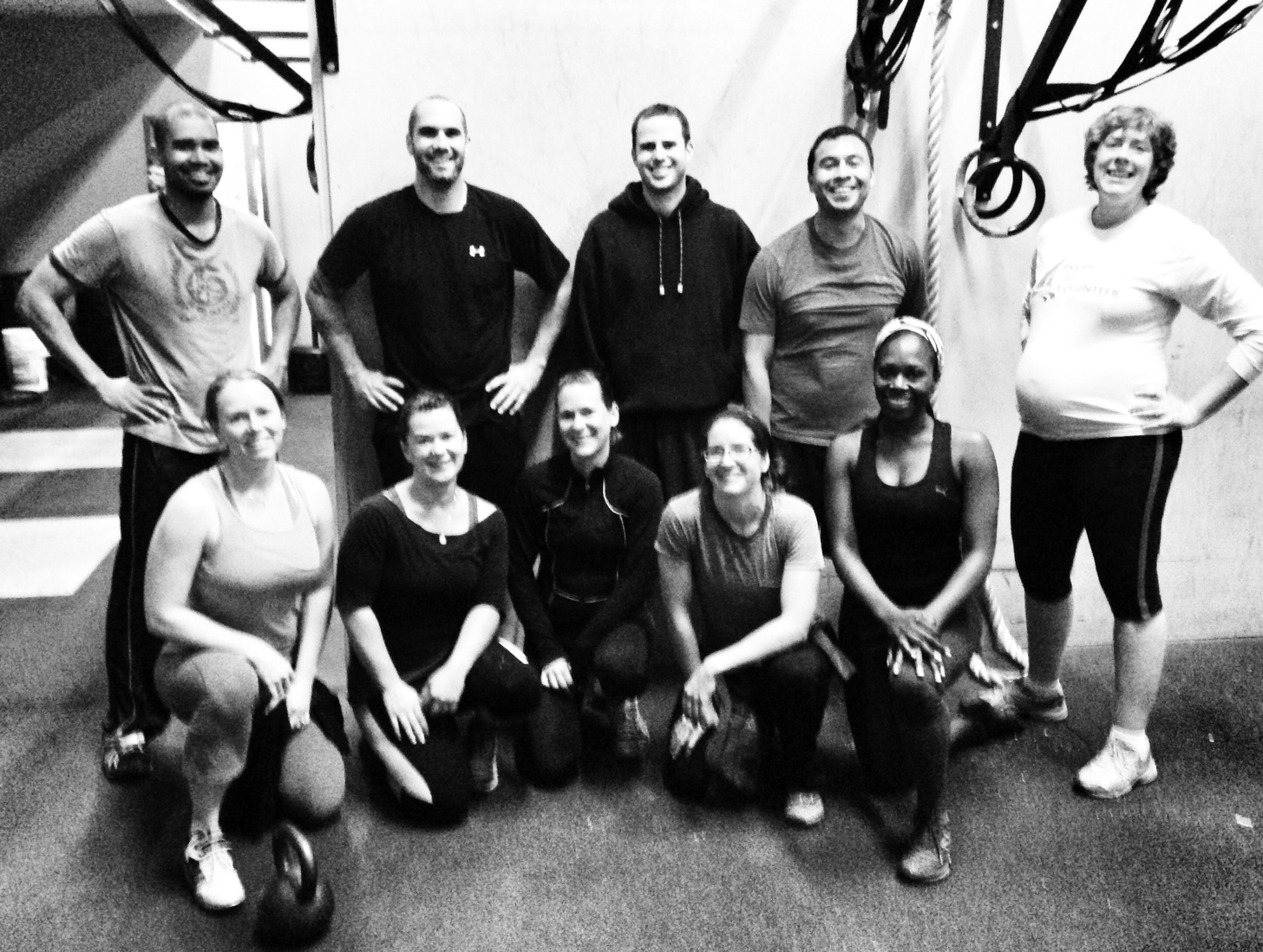 October 21, 2013. 6 a.m. First class at CrossFit V16