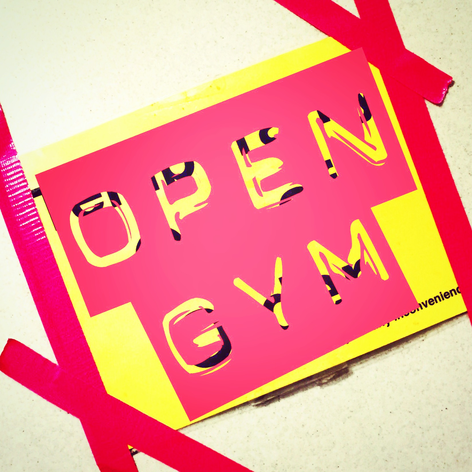 Open Gym.  Photo: Rafael Vega