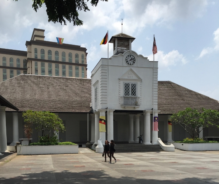 This is the old courthouse where BIBCo held it's conference. A charming building with an interesting history. The interior is set up around an open court yard complete with a garden. Behind the courthouse the tall building is the home of a huge modern multi level shopping mall.
