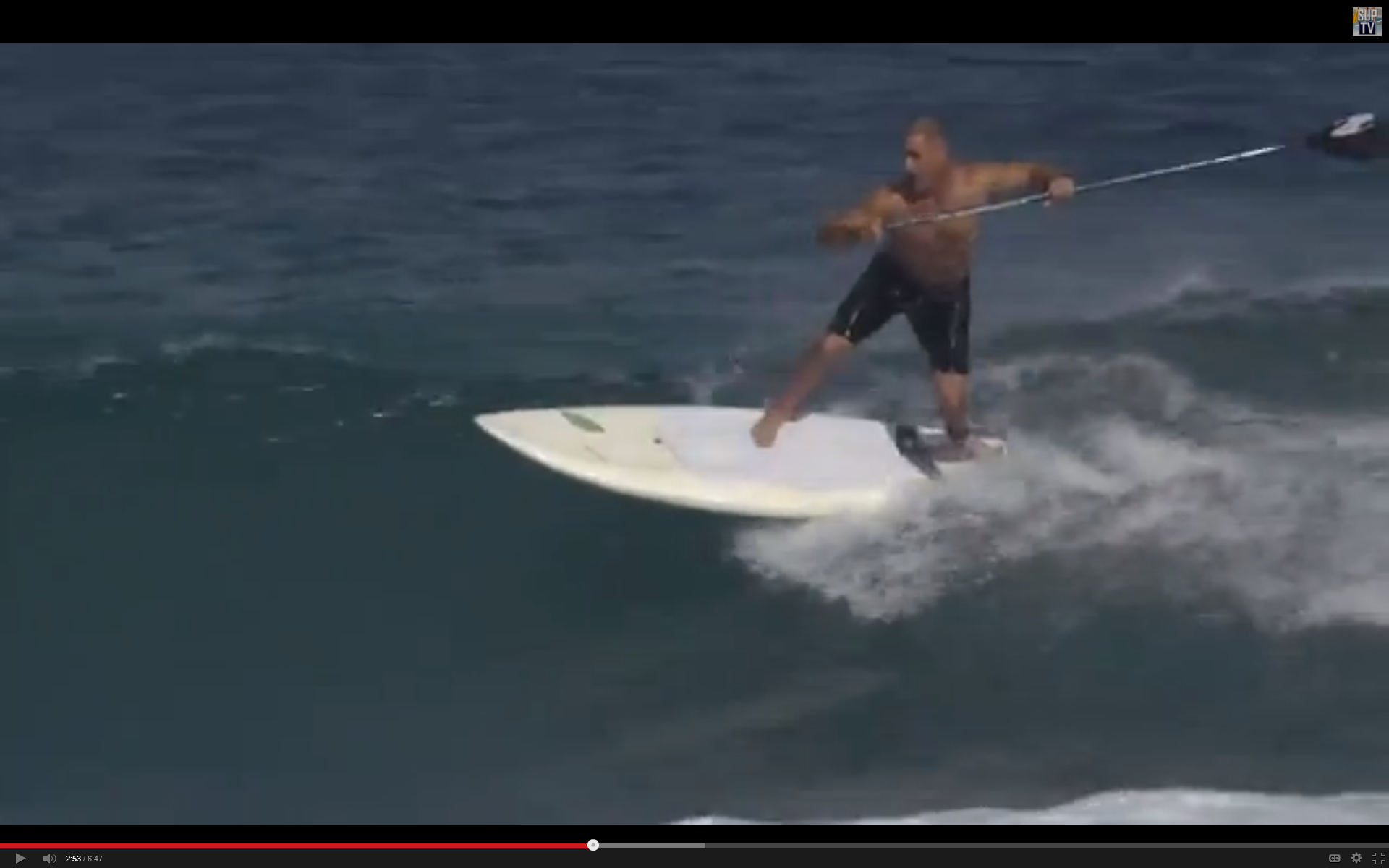 Surf Machine appears at the 2:50, 3:14 and 3:54 marks. Brad appears at 5:05.
