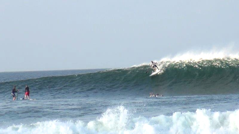 Surf Machine on his 7'8 Accelerator