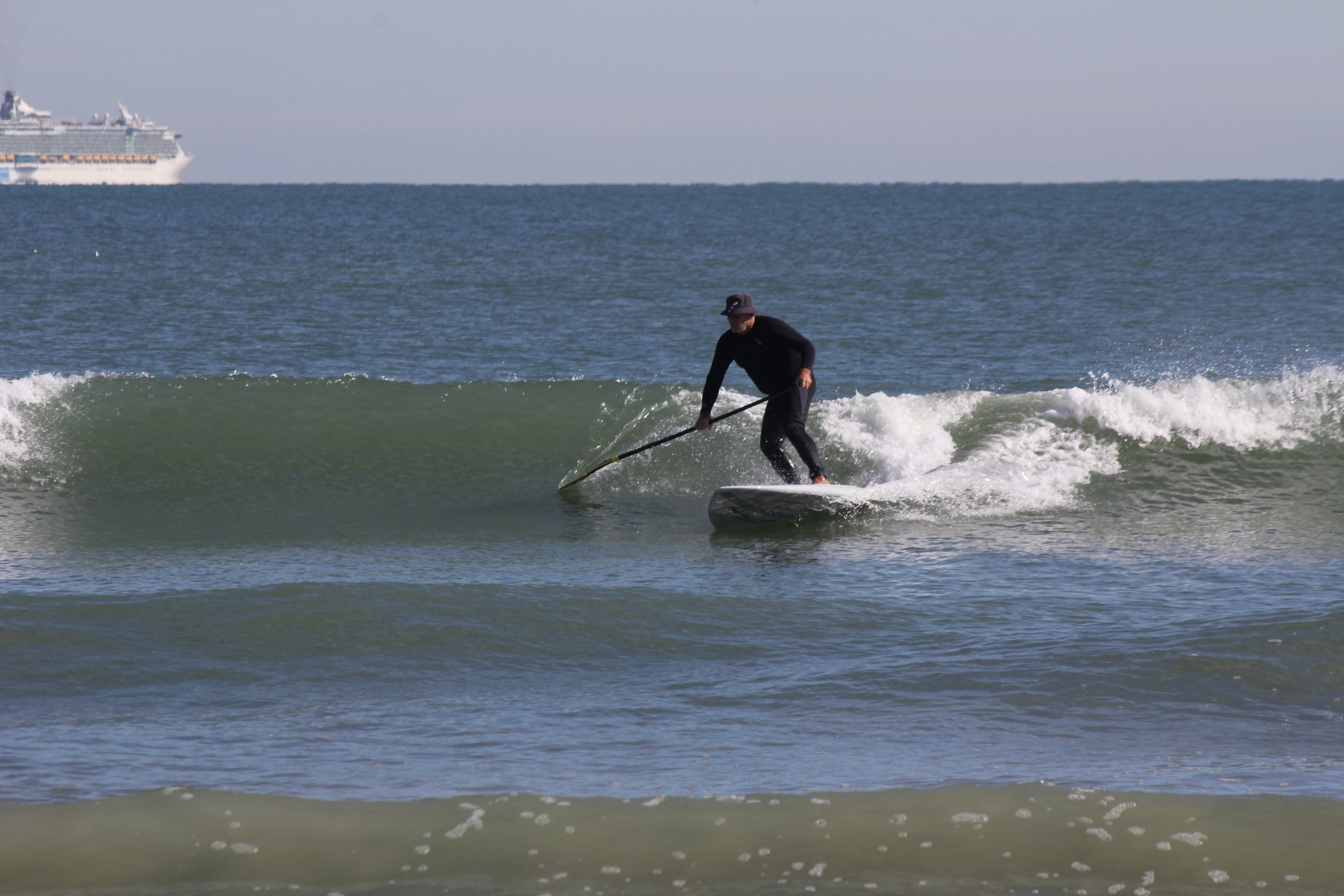 Dave on his 8'6 X32 Inlet Runner