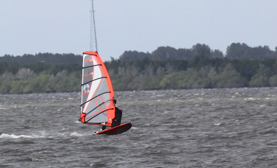We windsurfed too