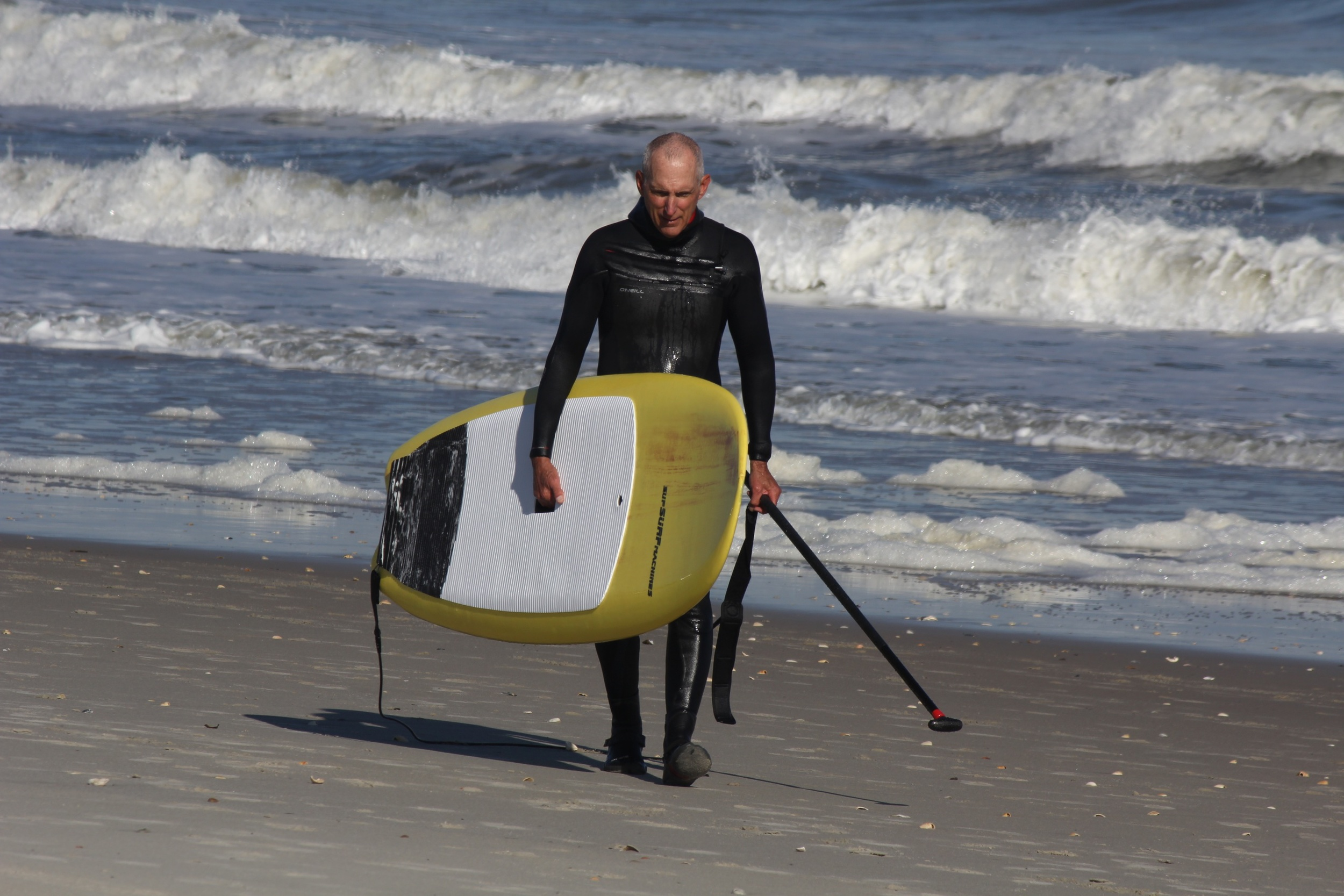 This is allyou get of me today. My surfing photos are not worthy. But, hey, the Tomo style held on and felt good today.