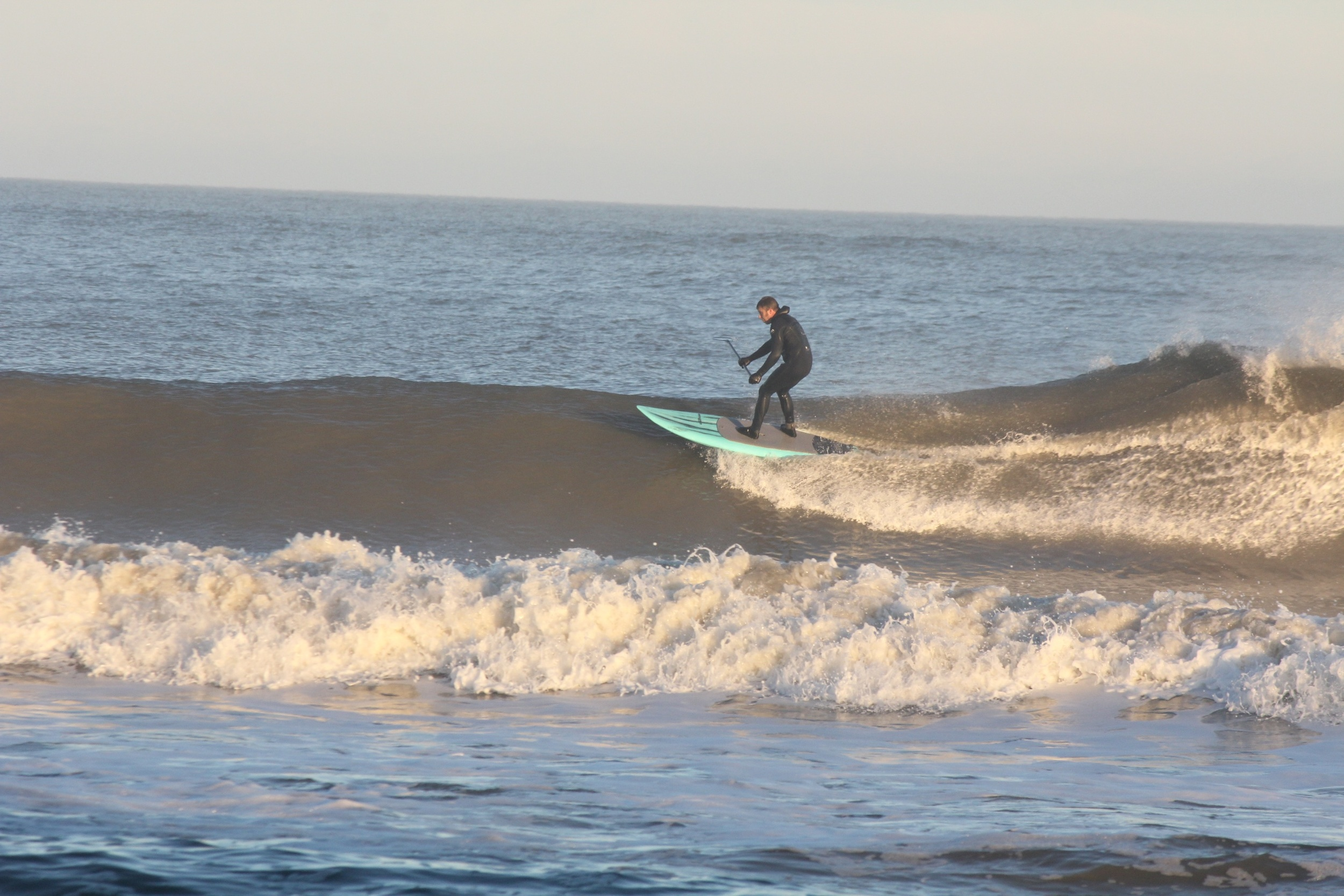 Same wave........taking it to the house!