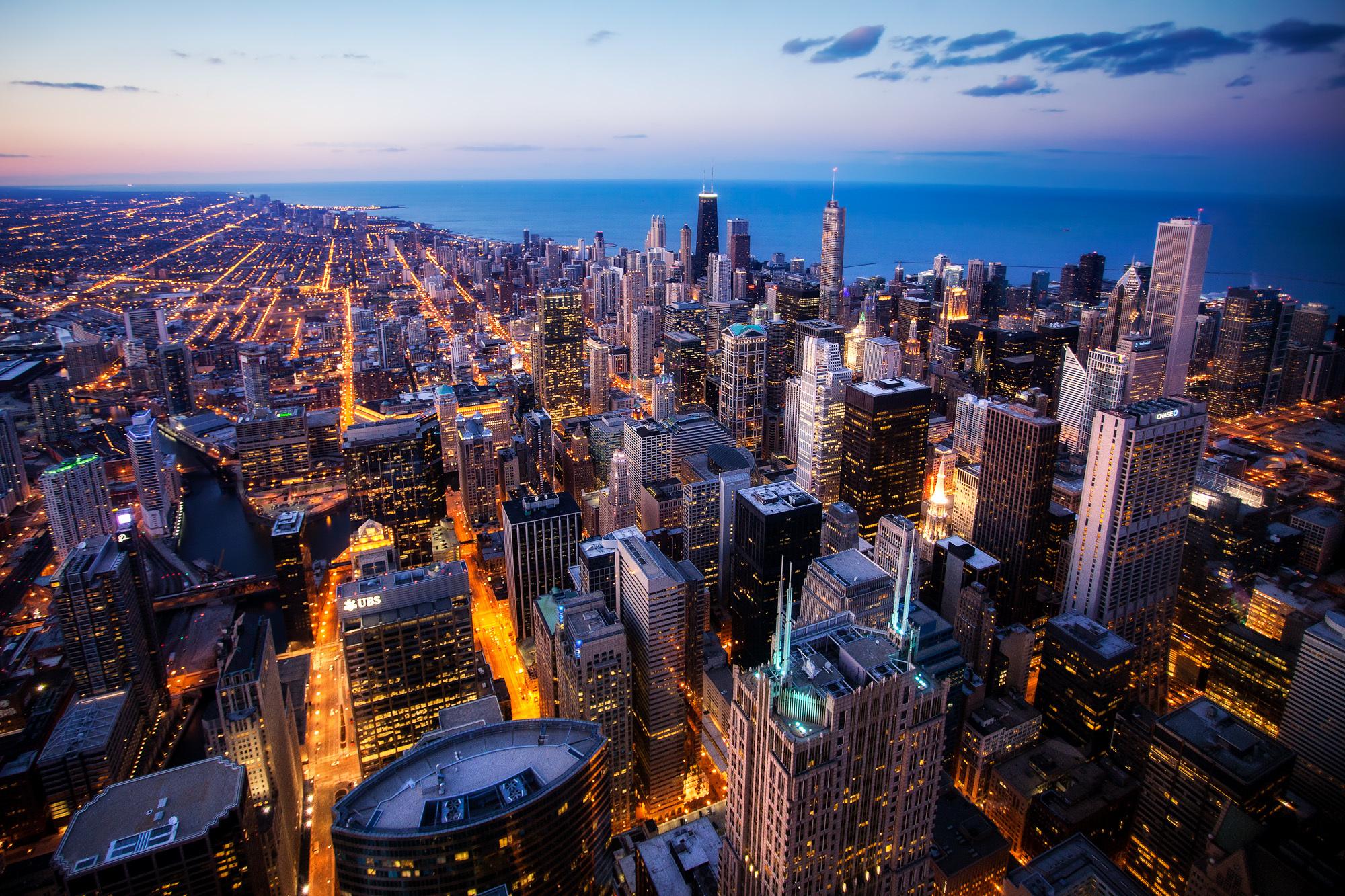 芝加哥俯瞰图