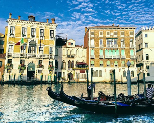 Wouldn't it be great if we put canals and gondolas in Ohio? Two years since I visited this magical place.  #venice #italy #italia #venezia #gondola #wanderlust
