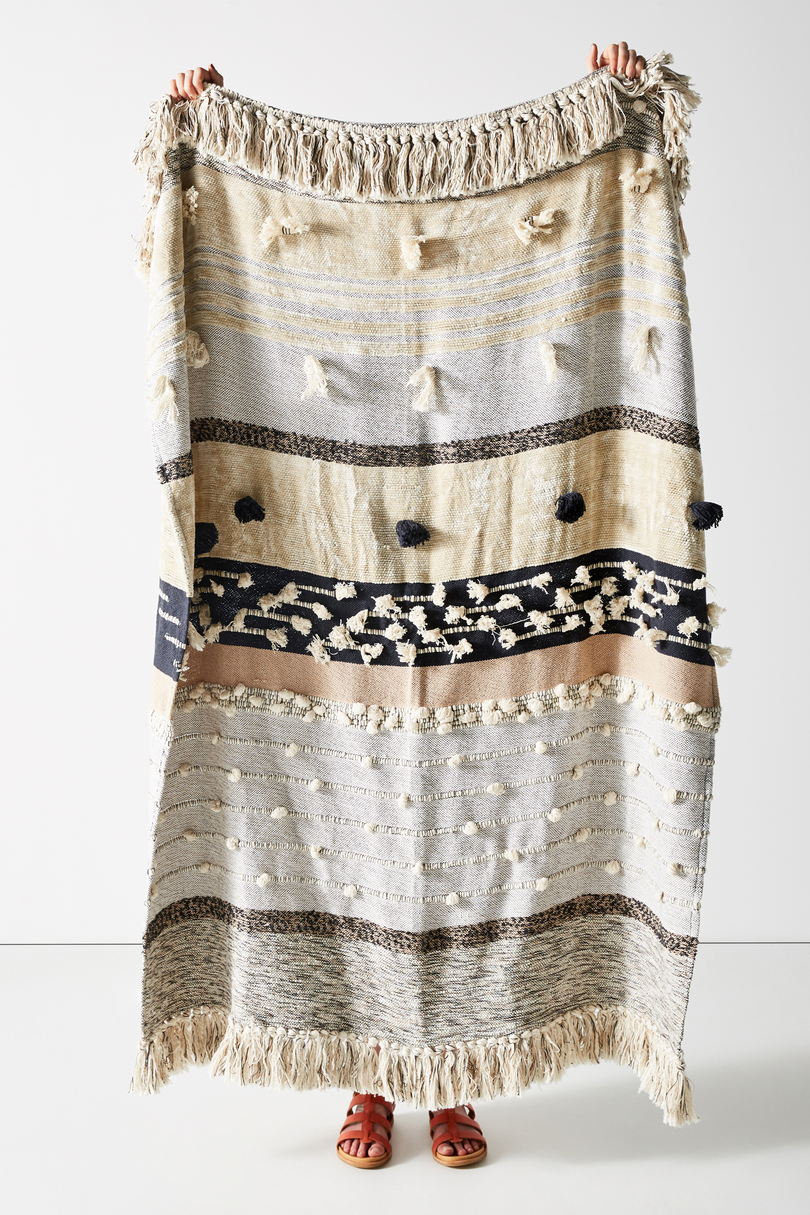 All Roads Yucca Throw Blanket