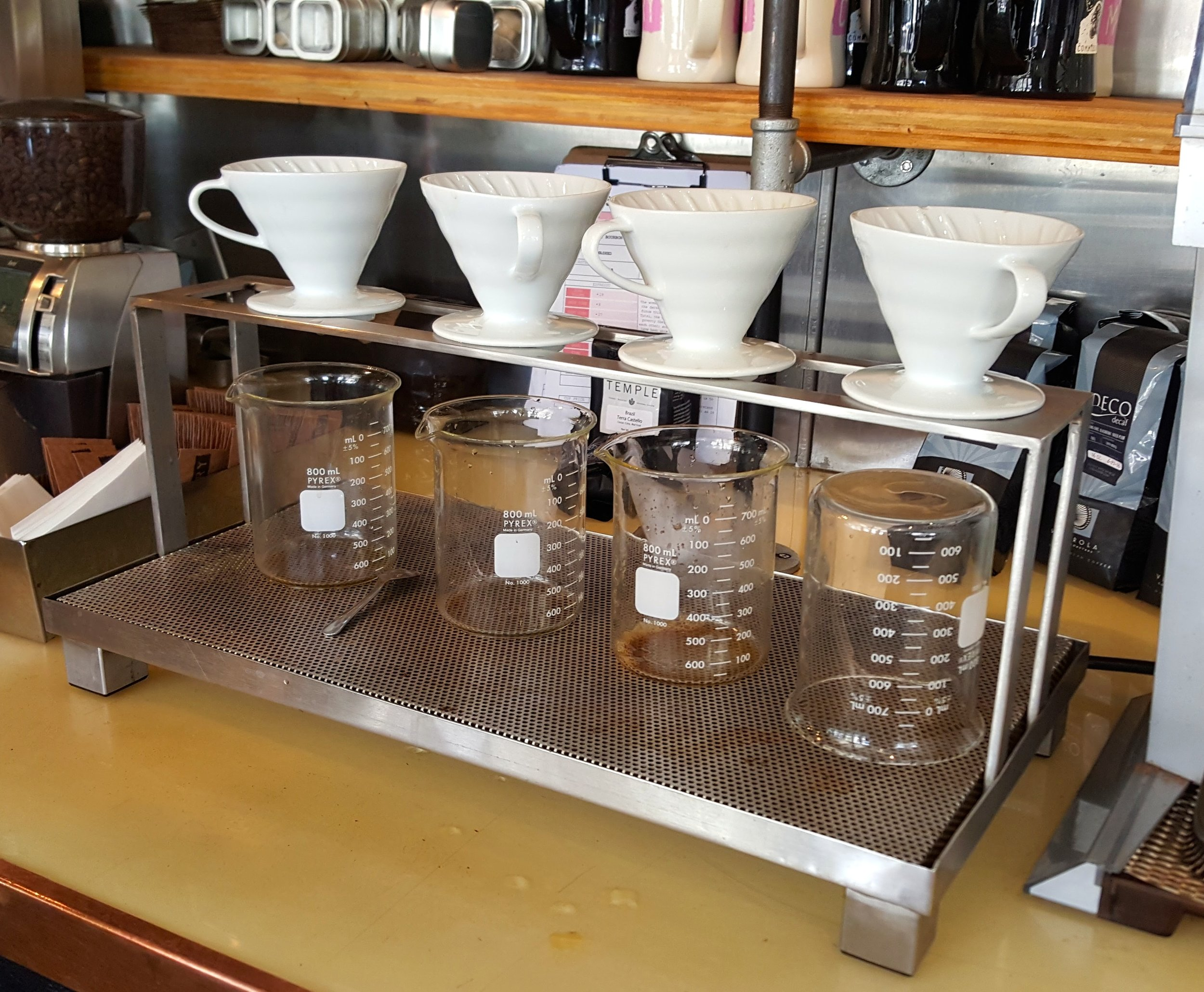 COFFEE POUR OVER @ COMMISSARY COFFEE, BURBANK