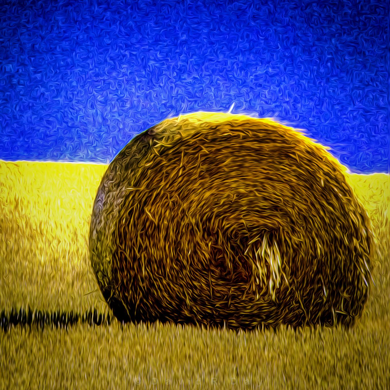 """ Hey, Hay. ""Palouse, Northern Idaho"