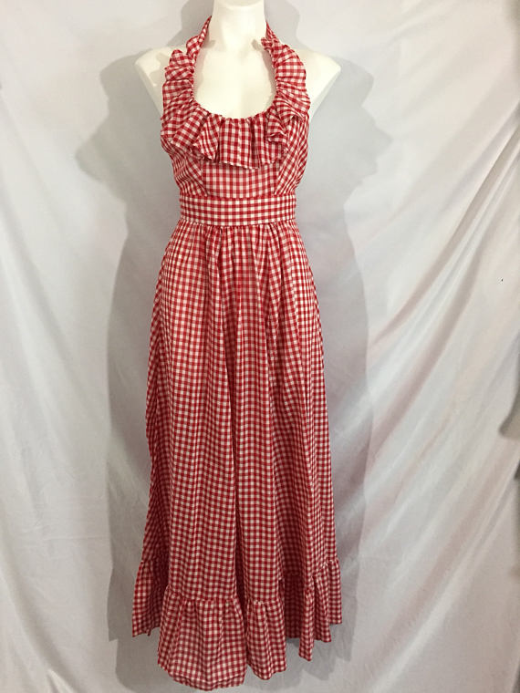 A Part of the Rest recommends ETSY Ruffle Gingham Maxi .jpg