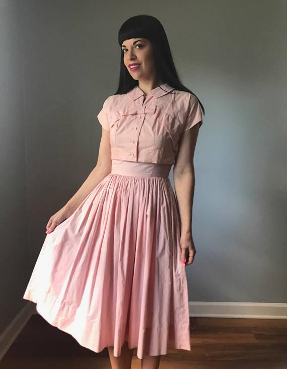 A Part of the Rest recommends Los Gitanos Vintage 1950s Cotton Dress Set.jpg