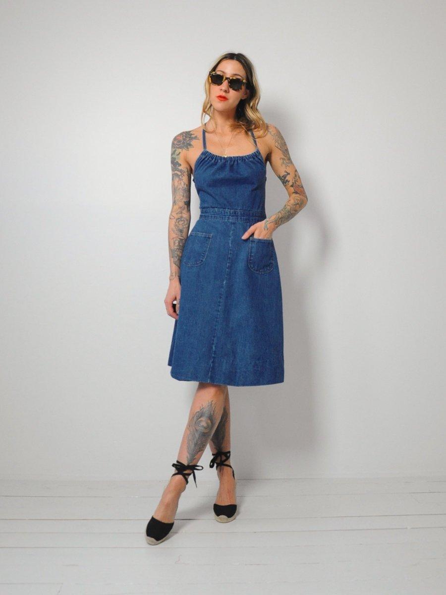 A Part of the Rest recommends Noir Ohio Vintage Denim Dress.jpg