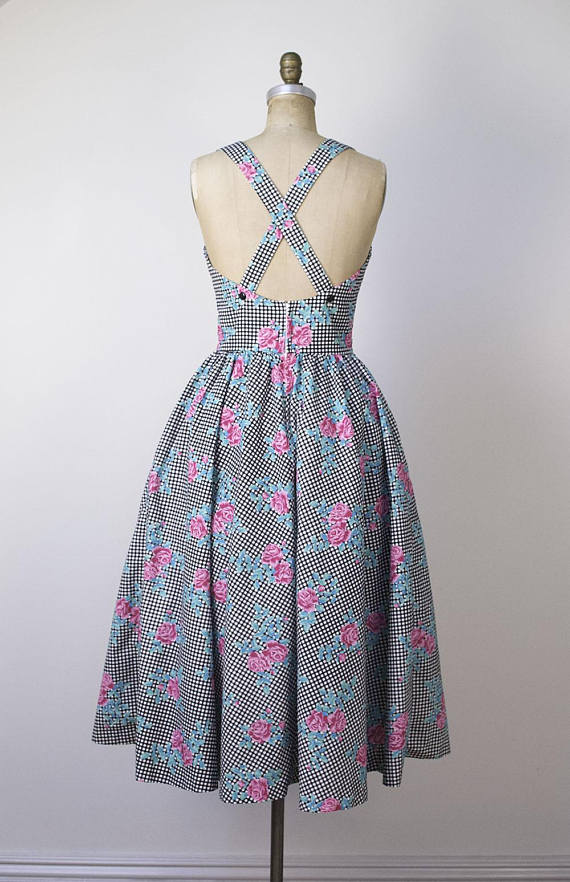 A Part of the Rest recommends Etsy Rose Gingham Dress.jpg