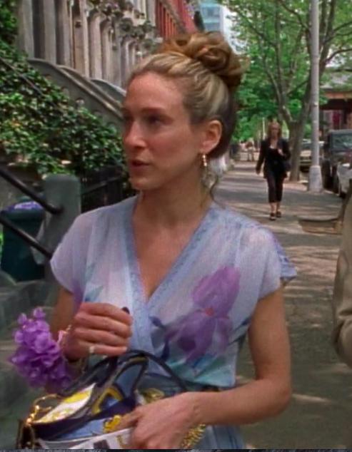 SATC Season 3 Episode 7 Carrie Bradshaw BEST Outfit dior bag