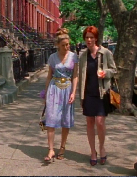 SATC Season 3 Episode 7 Carrie Bradshaw BEST Outfit full