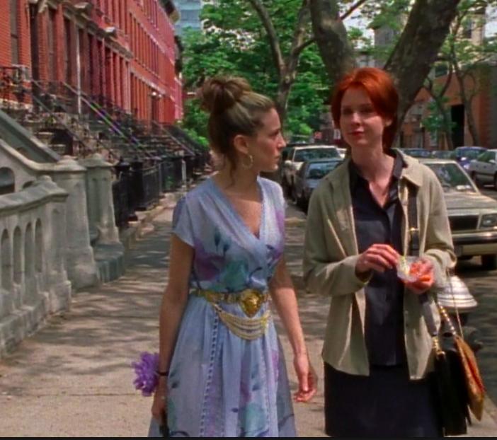 SATC Season 3 Episode 7 Carrie Bradshaw BEST Outfit