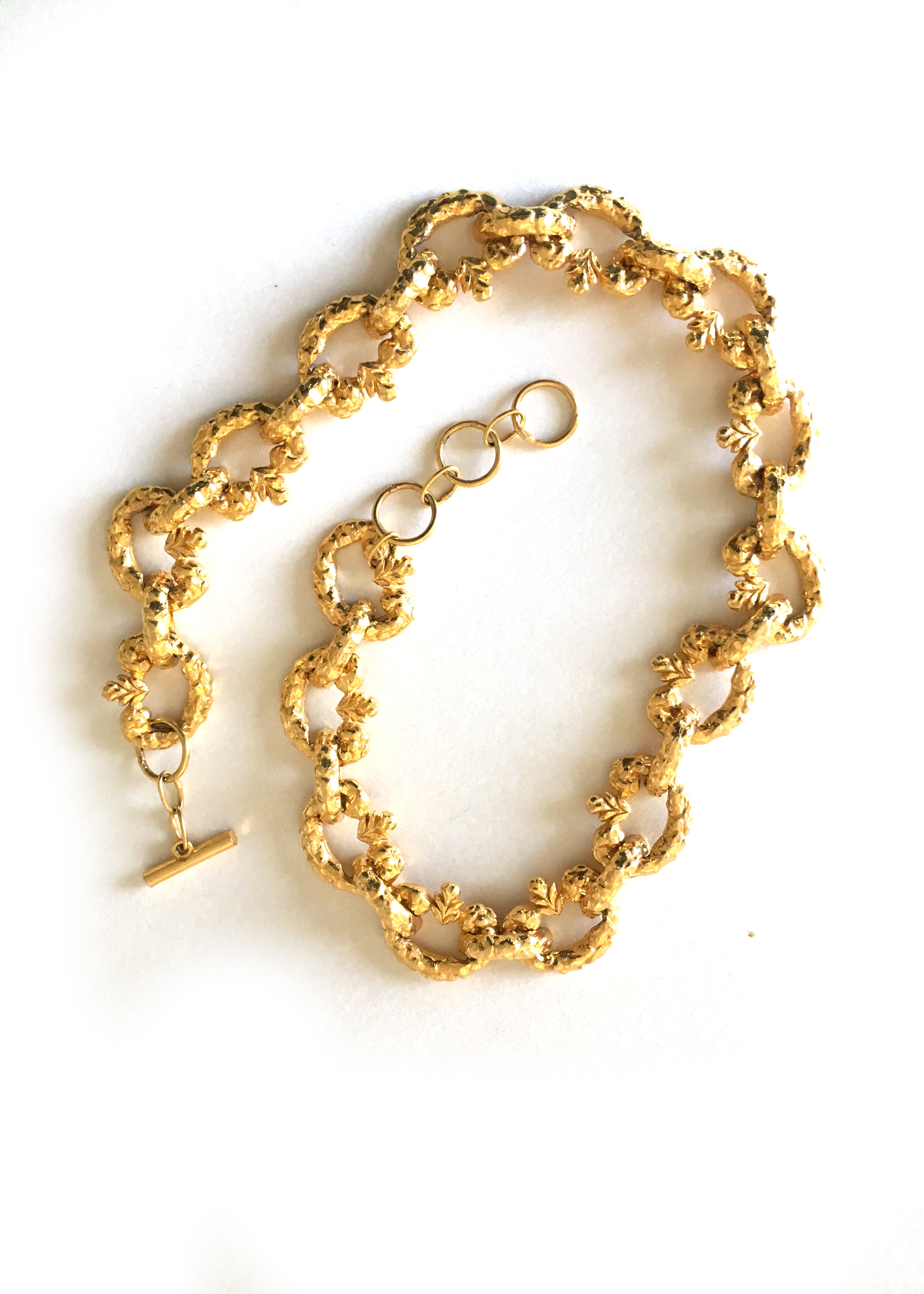 A_Part_of_the_Rest_Vintage_Alexis_Kirk_Gold_Heart_Chain_Belt_2.JPG