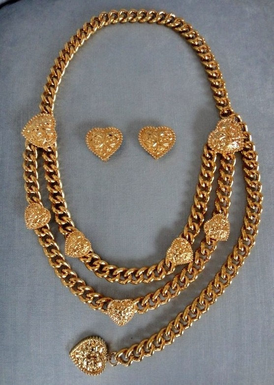A Part of the Rest Recommends Vintage St John Gold Chain Belt SATC Carrie Bradshaw.jpg