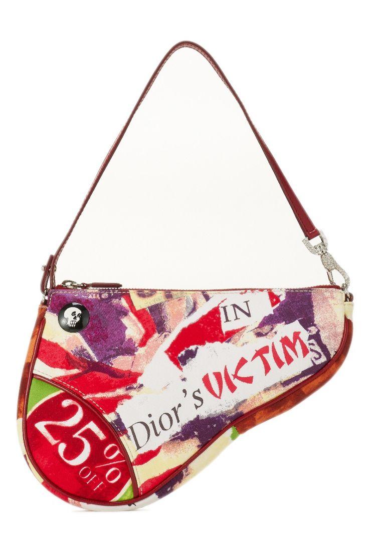 A Part of the Rest Recommends Vintage Christian Dior Saddle Bag WGACA Vintage Carrie Bradshaw SATC.jpg