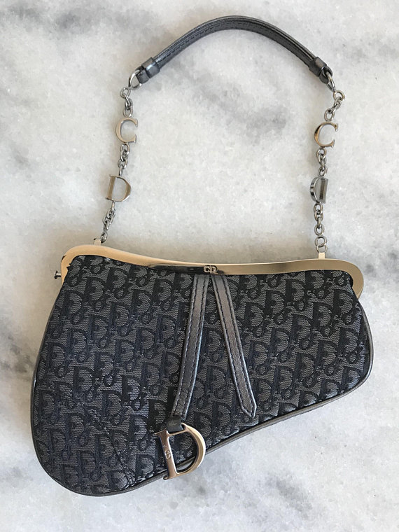 A Part of the Rest Recommends Vintage Christian Dior Saddle Bag ETSY Carrie Bradshaw SATC.jpg