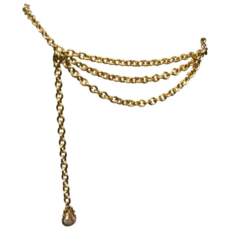 A Part of the Rest Recommends Vintage Judith Leiber Chain Belt 1st Dibs Carrie Bradshaw SATC.jpg