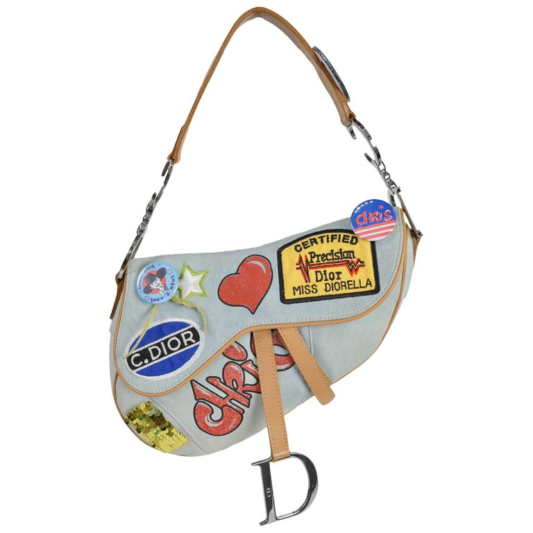 A Part of the Rest Recommends Vintage Christian Dior Saddle Bag 1st Dibs 2 Carrie Bradshaw SATC.jpg