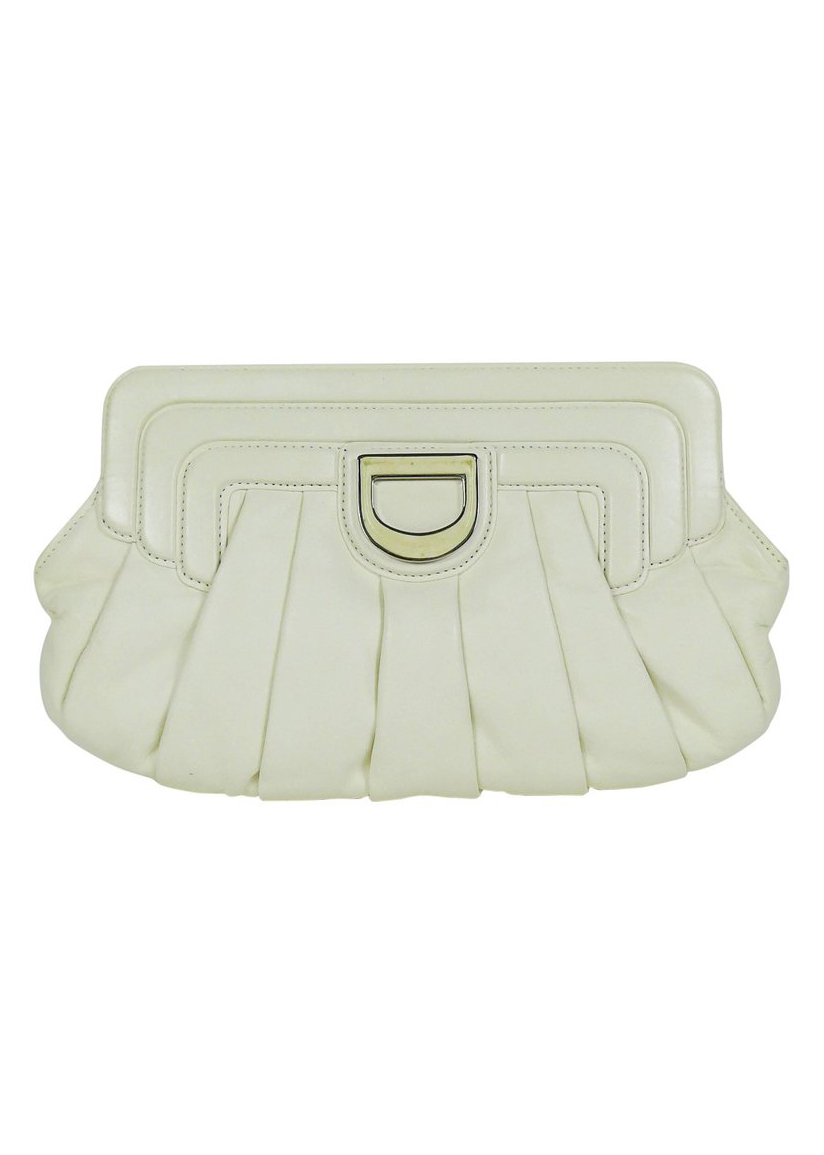 A Part of the Rest Recommends Vintage Christian DiorWhite Clutch1st Dibs 2 Carrie Bradshaw SATC.jpg