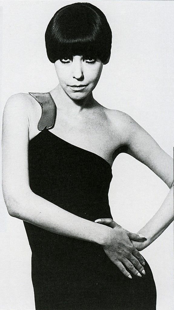 Rudi Gernreich 1976 Collection sculptural jersey - This Iconic dress, as photographed by David Bailey on Peggy Moffat is a piece of fashion history