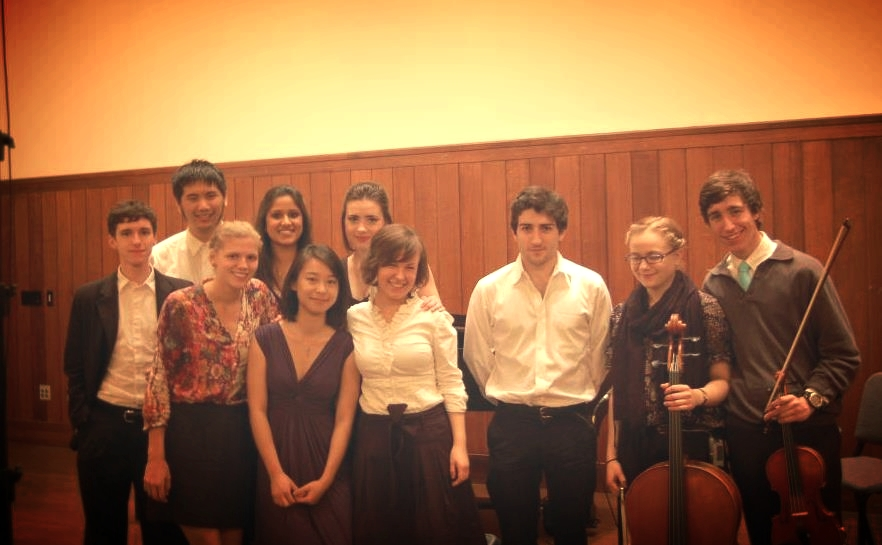 Music 010 students, Spring 2012