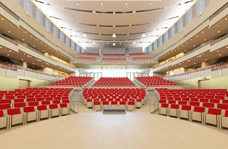 Harvard Business School Klarman Hall courtesy of  Glickman Design Studio