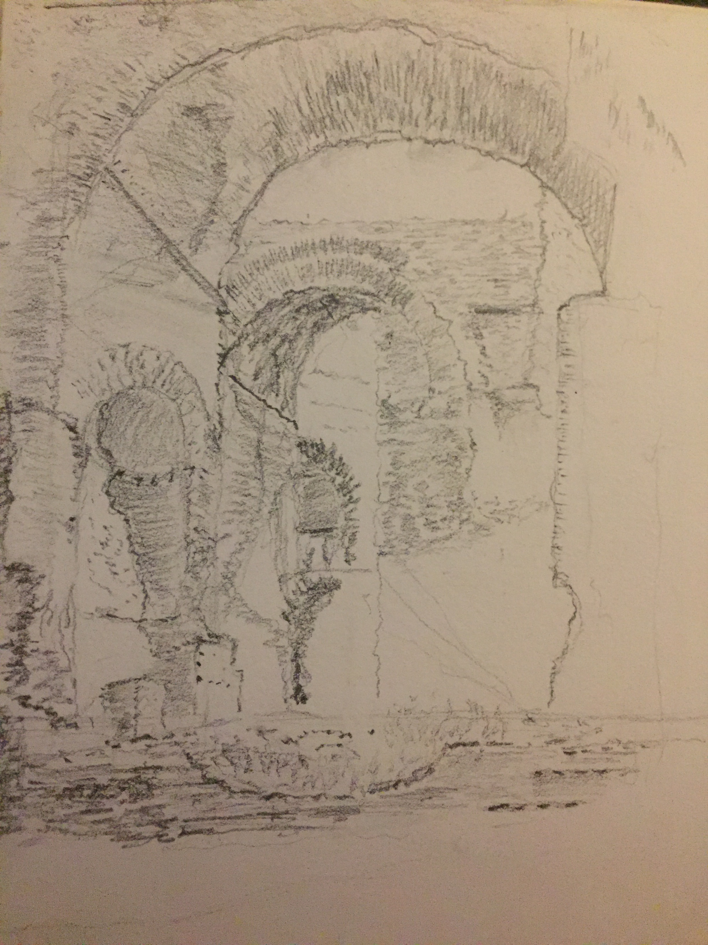 'Basking in the Baths' - Baths of Caracalla