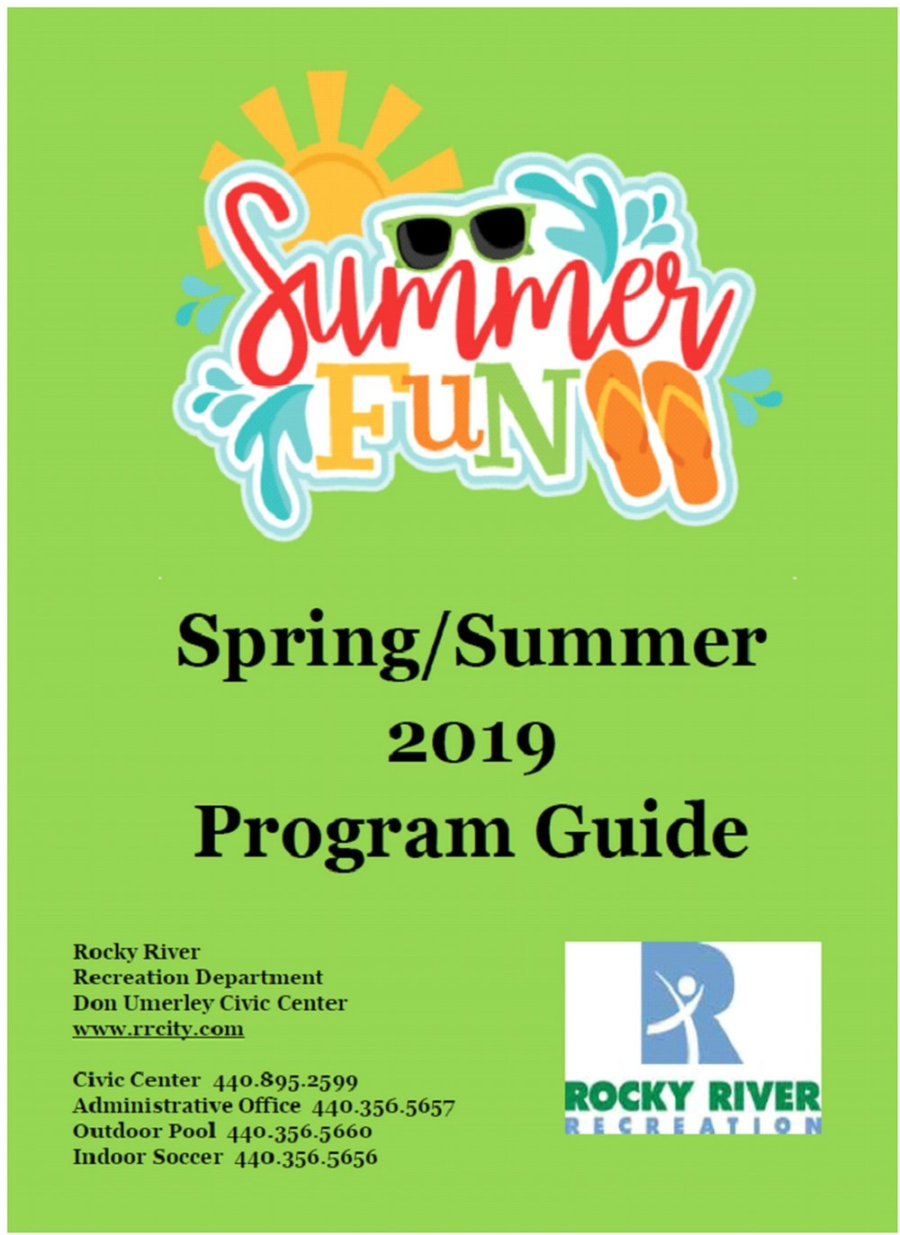 Recreation Department Spring/Summer 2019 Program Guide