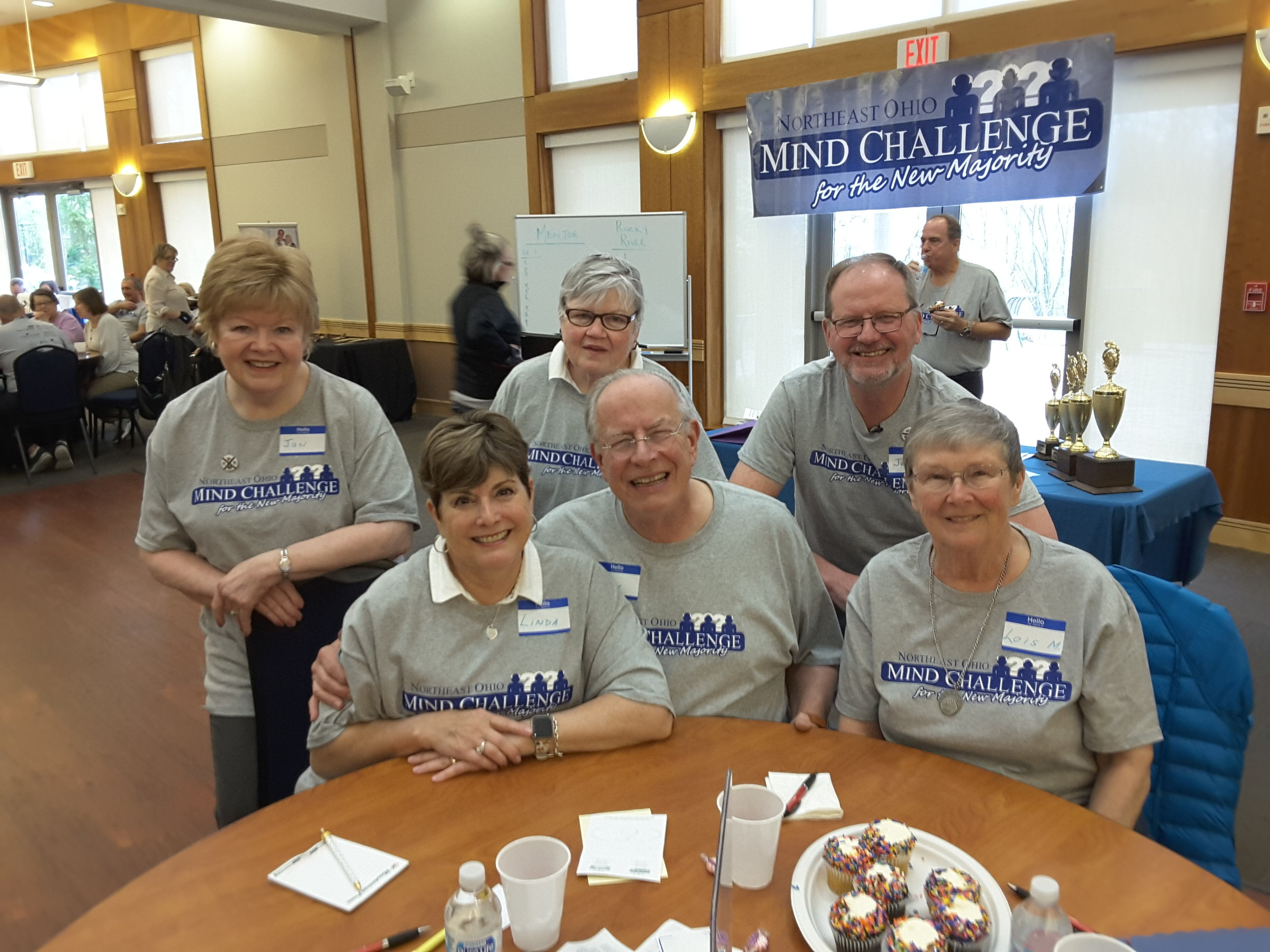 ROCKY RIVER SENIOR CENTER MIND CHALLENGE RUNNERS UP!.