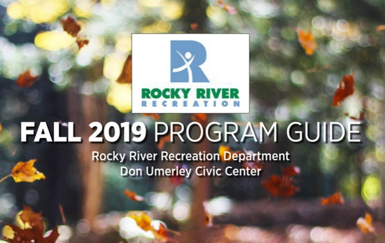 Recreation Department Fall 2019 Program Guide