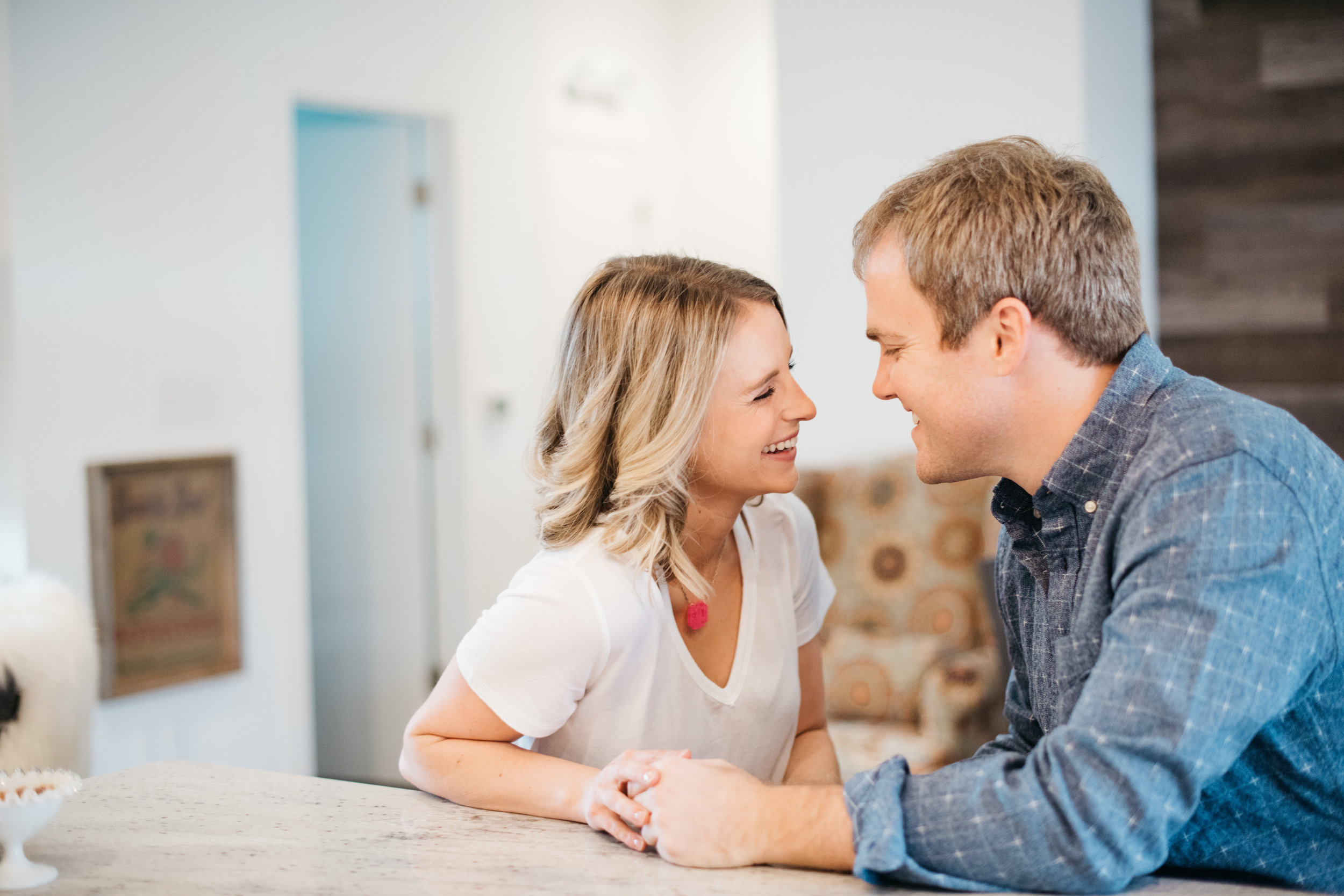 Modern At Home Engagement Session Erika Aileen Photography Indianapolis Indiana