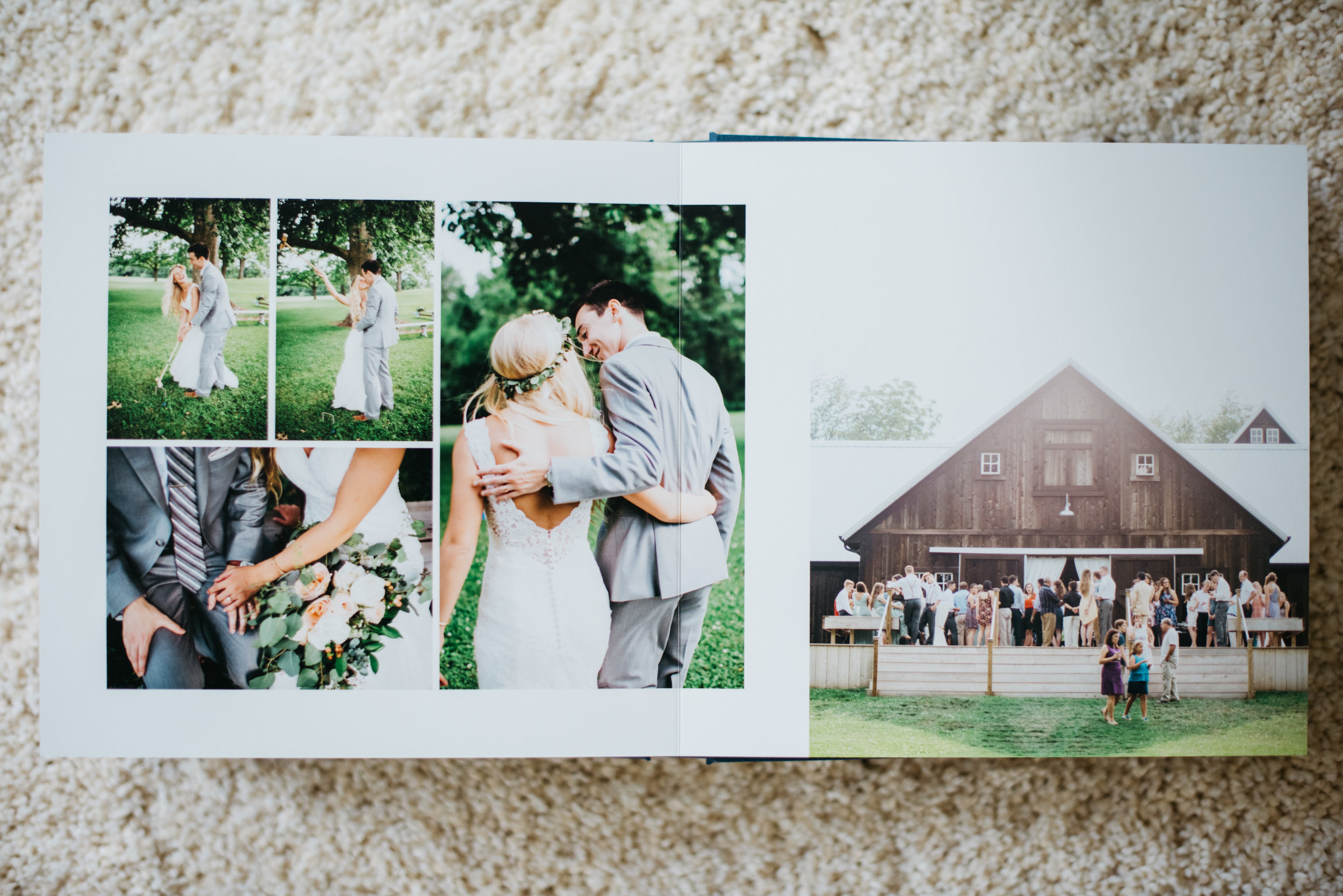 Erika Aileen Photography Wedding Albums Kiss Books